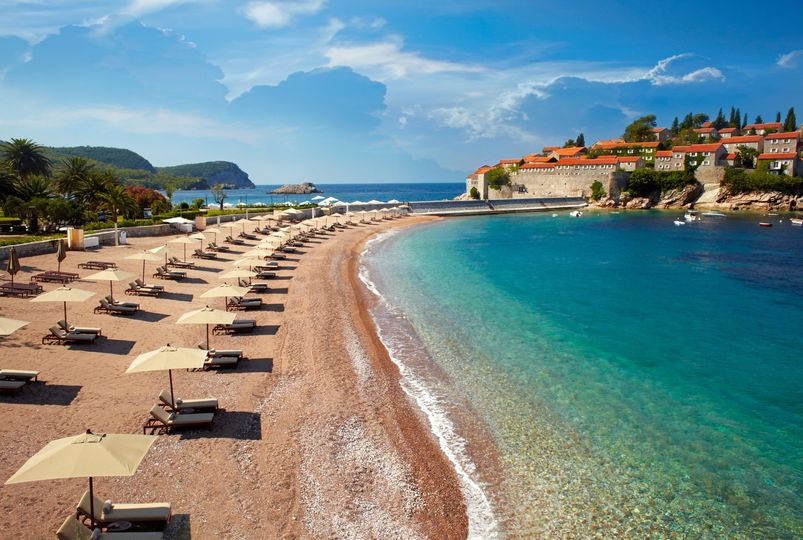 Luxury resort in Montenegro