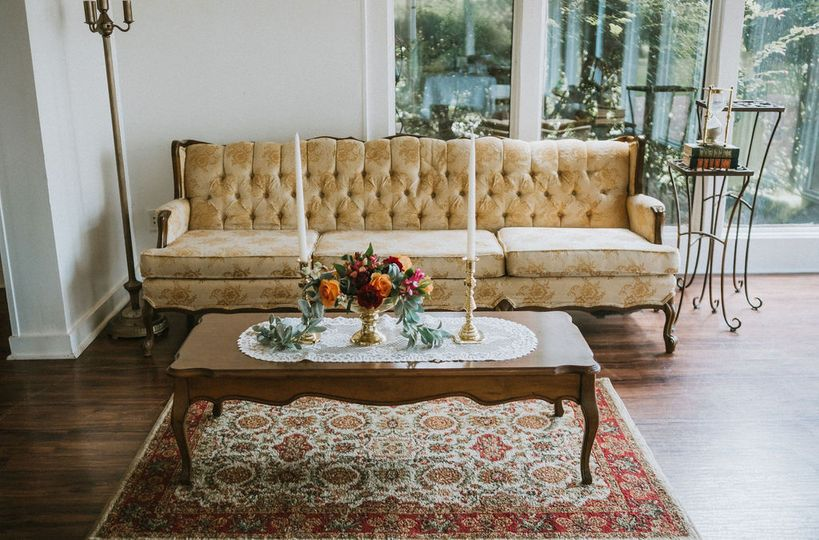 Styled lounge furniture