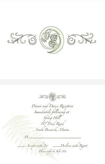 Tmx 1335060591752 Kbresponsecardws Portsmouth, NH wedding invitation