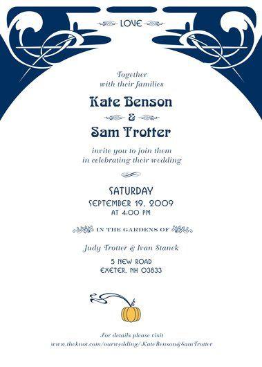 Tmx 1335060593897 SkInvitationbackws Portsmouth, NH wedding invitation