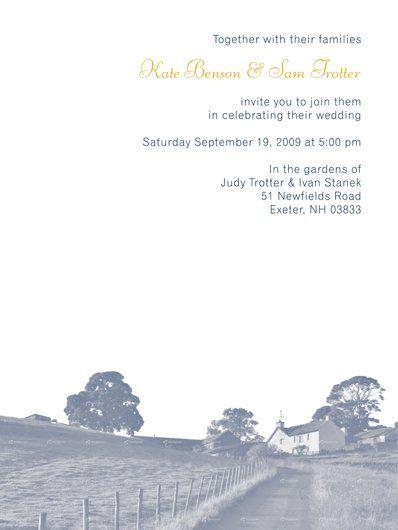 Tmx 1335060596222 SkInvitationFarmws Portsmouth, NH wedding invitation