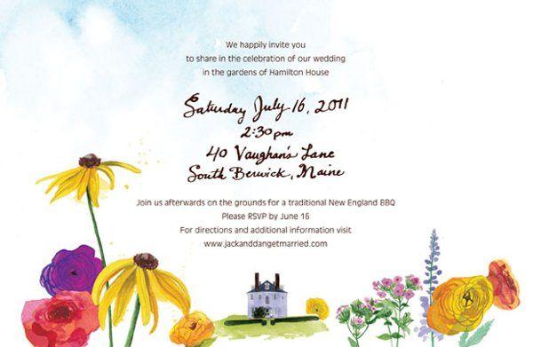 Tmx 1335060755672 JDinvitationsback Portsmouth, NH wedding invitation