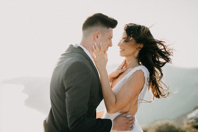 Engagement in Santorini