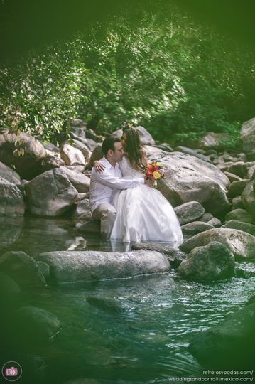 Destination Wedding Photographer in Punta Mita - Trash The Dress Session