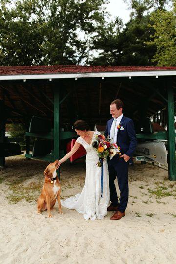 Maine Camp wedding