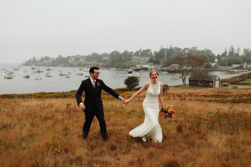 Harpswell Maine micro wedding