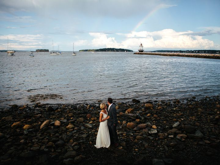 Tmx 1506480486114 Spring Point Ledge Lighthouse Wedding South Portla Portland, ME wedding photography
