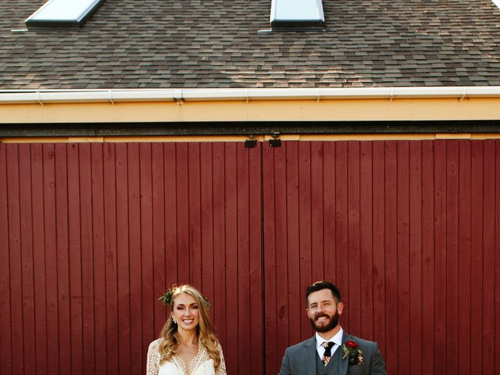 Tmx Maine Maritime Museum Wedding Couple Red Door 2 51 915089 1562587487 Portland, ME wedding photography