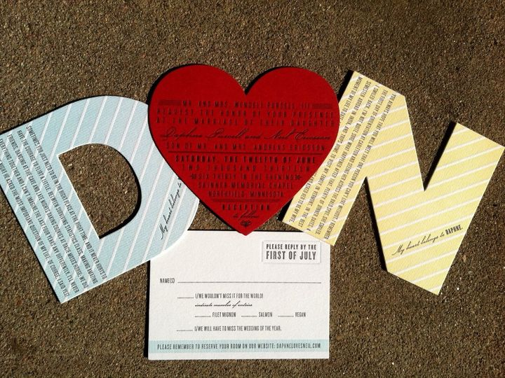 Tmx 1353107647573 Weddinginvitationcloud9letterpressdiecutheartweddinginvitation Denver wedding planner