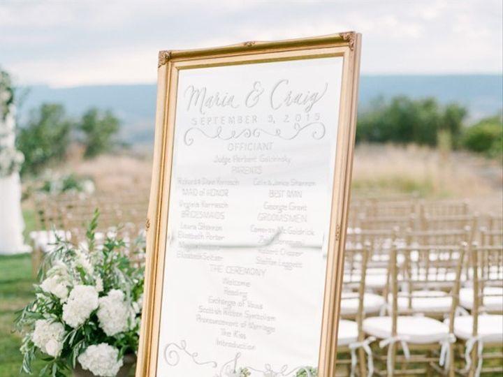 Tmx 1508874744346 Mirrorceremony Programcalligraphycloud 9 Denver wedding planner