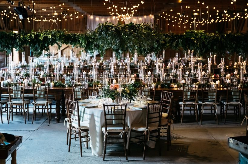 Breath-taking reception setup