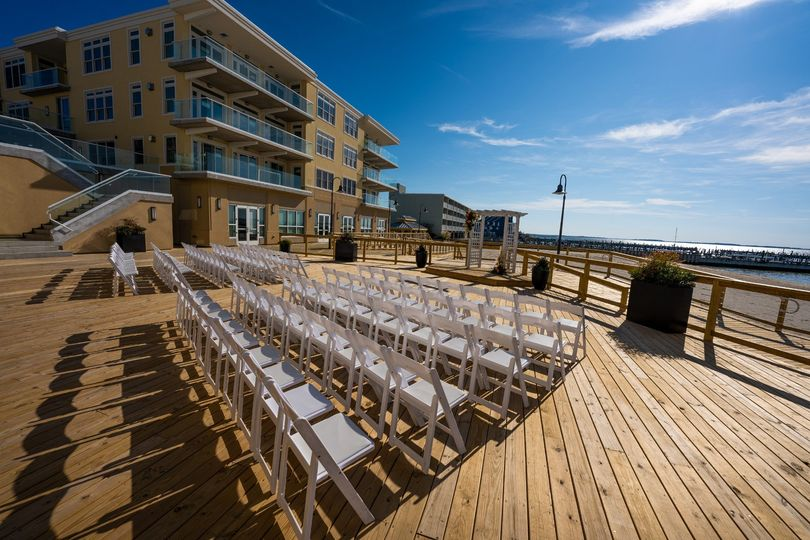 Sunset Deck Ceremony