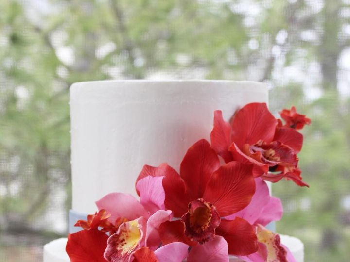 Tmx Sugar Orchids 51 1076089 1562610171 Liberty, NY wedding cake