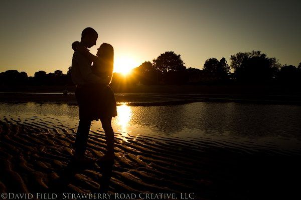 Sunset Engagement, Westport, CT