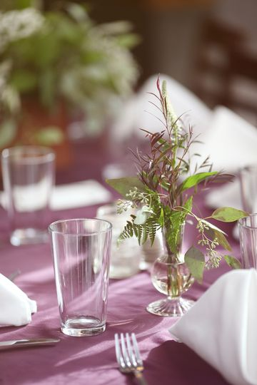 Floral table design