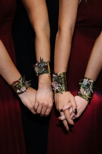 Botanical Cuffs