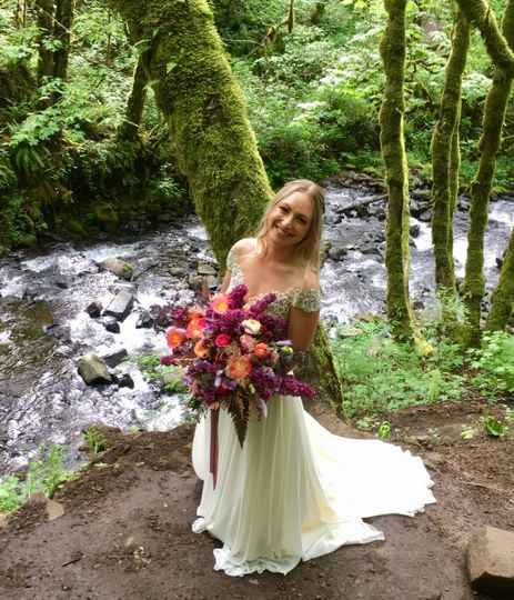 Bridal Veil Falls Wedding
