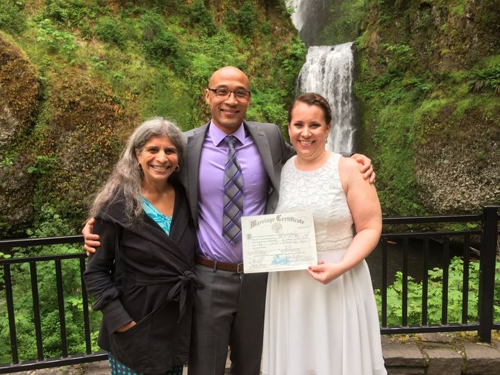 Multnomah Falls Ceremony