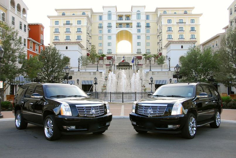**Cadillac Escalade** Luxury in a small package! SHARK LIMOUSINES Escalade is not really a...