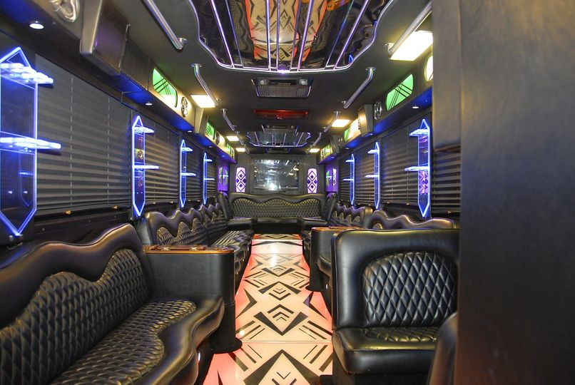 "**Large Party Bus ""GREAT WHITE""** (Interior)"