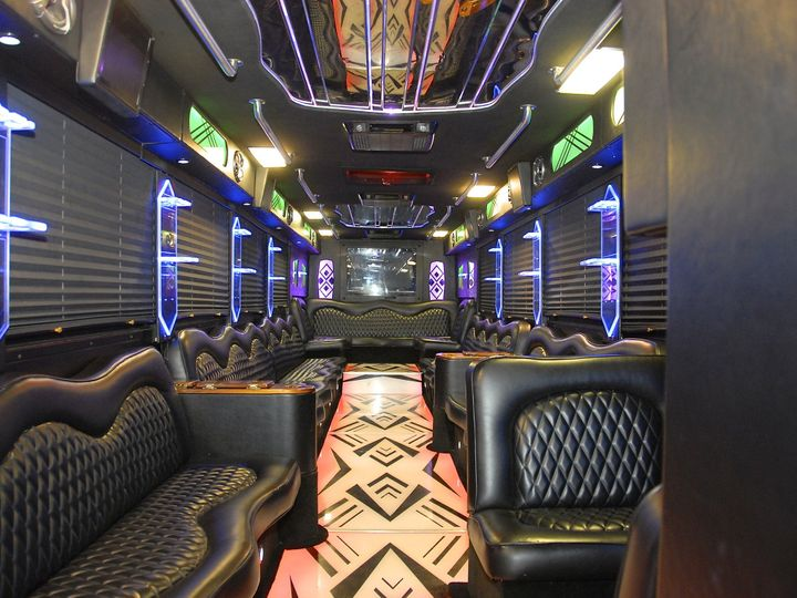Tmx 1414461440032 Greatwhite Tux 46psg Interior 1 San Antonio wedding transportation