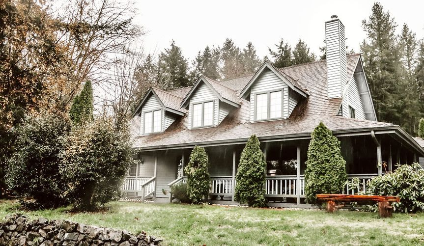 French country farm house