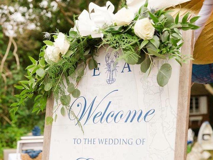 Tmx Belliveau Welcome Sign 51 208089 V2 Falmouth, Massachusetts wedding planner