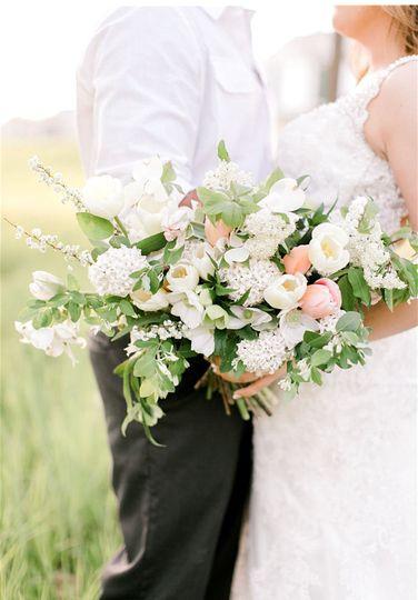Light themed bouquet