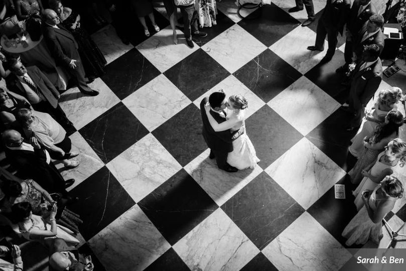 first dance in the beautiful Conservatory of OE