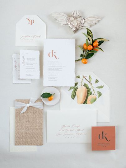 Tile and cane invite suite