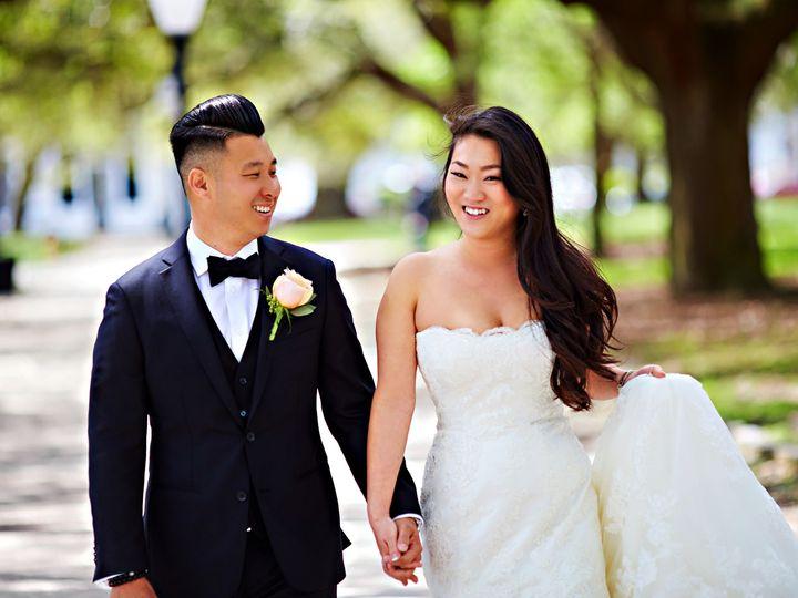 Tmx Bride Groom White Point Garden Walk 51 950189 157513716756145 Charleston, SC wedding photography