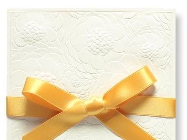 Tmx 1246314894923 WilliamArthurembossedzinniainvite Winter Park, Florida wedding invitation