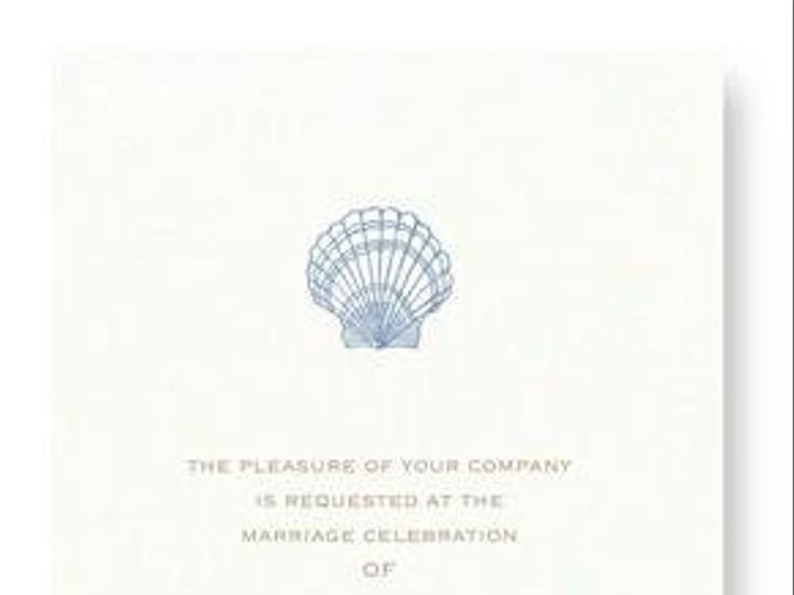 Tmx 1246314906189 WilliamArthurOysterinvite Winter Park, Florida wedding invitation