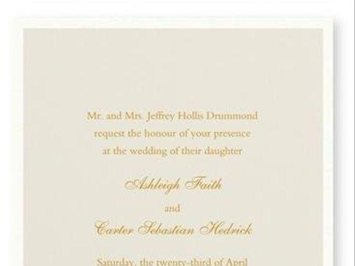Tmx 1246314963986 WilliamArthurBisqueinvite Winter Park, Florida wedding invitation