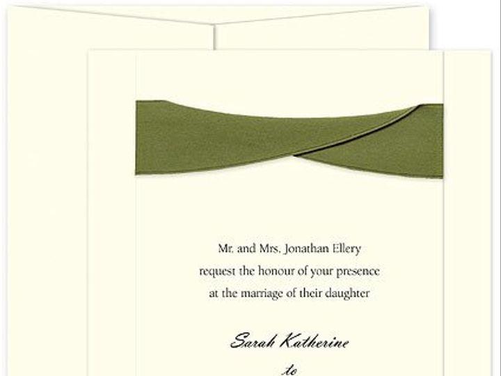 Tmx 1267757337715 CheckerboardLavishGreenwedding Winter Park, Florida wedding invitation
