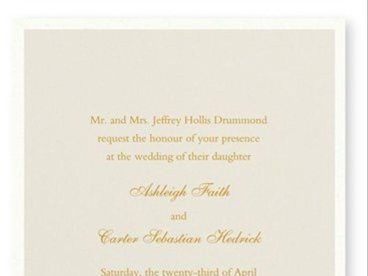 Tmx 1273784691627 RitaRenningWeddingInvite4 Winter Park, Florida wedding invitation