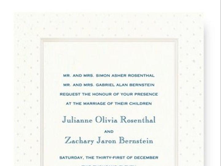 Tmx 1273784691908 RitaRenningWeddingInvite3 Winter Park, Florida wedding invitation
