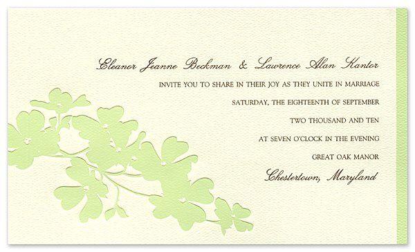 Tmx 1273784703564 ChloeBWeddingInvite6Green Winter Park, Florida wedding invitation