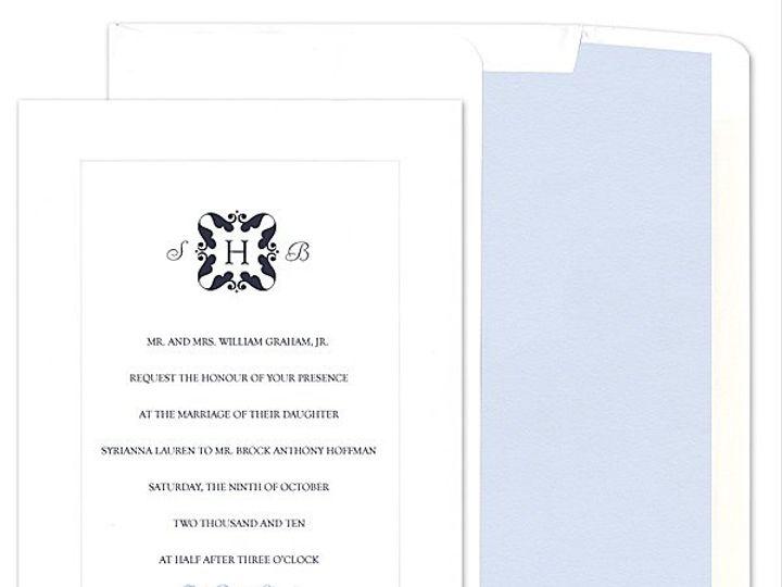 Tmx 1273784703986 ChloeBWeddingInvite7 Winter Park, Florida wedding invitation