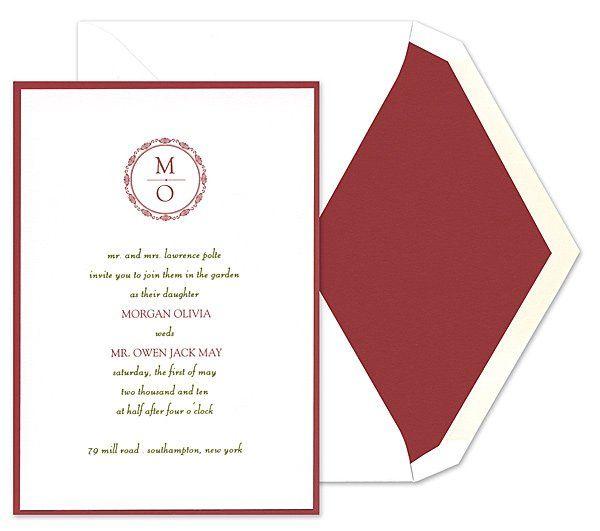 Tmx 1273784710205 ChloeBWeddingInvite11 Winter Park, Florida wedding invitation