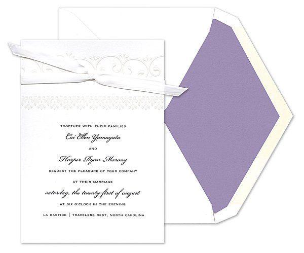 Tmx 1273784712220 ChloeBWeddingInvite3 Winter Park, Florida wedding invitation