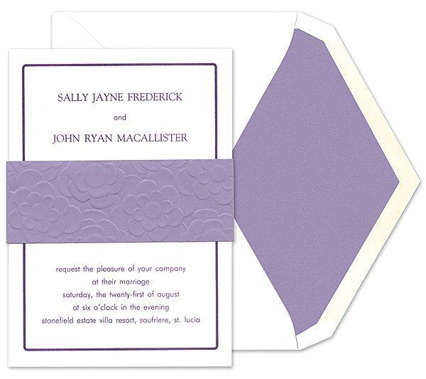 Tmx 1273784719580 ChloeBWeddingInvite1 Winter Park, Florida wedding invitation