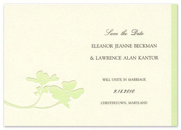 Tmx 1273797207924 ChloeBsavethedate10green Winter Park, Florida wedding invitation