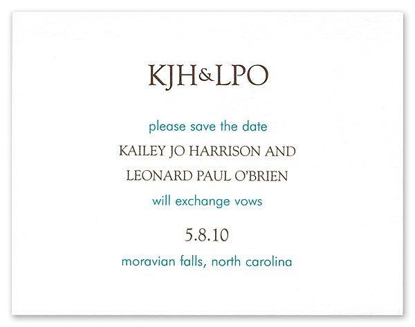 Tmx 1273797212878 ChloeBSavethedate3 Winter Park, Florida wedding invitation