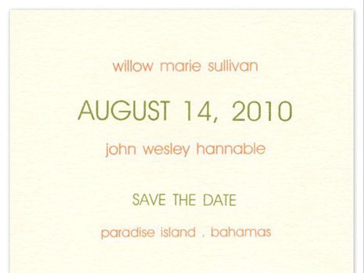 Tmx 1273797221424 ChloeBsavethedate8 Winter Park, Florida wedding invitation