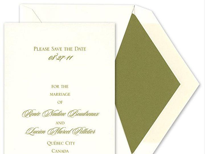 Tmx 1273797226378 RitaRenningSavethedate2 Winter Park, Florida wedding invitation
