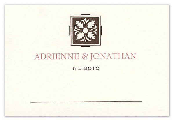 Tmx 1273797761706 ChloeBTableCard4 Winter Park, Florida wedding invitation