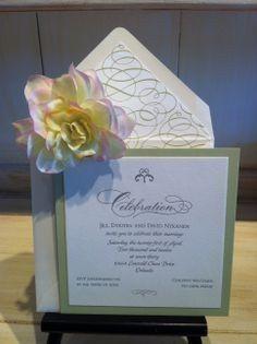Tmx 1400089320340 658bdae0e9743194859549b48f39f13 Winter Park, Florida wedding invitation