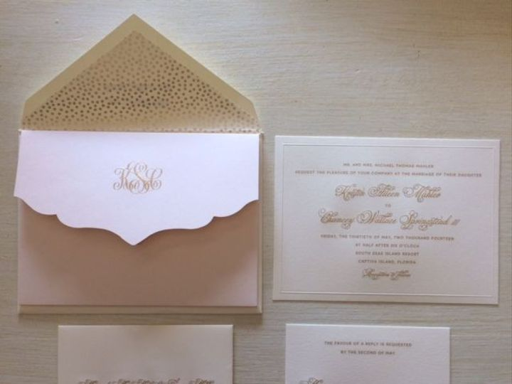 Tmx 1400089329997 599881fb7a6e1a2917ed1b0c6e1fb7d Winter Park, Florida wedding invitation