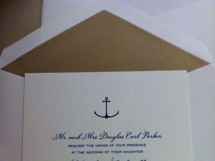 Tmx 1400089350553 Efde856746c3e24f750547335ecaeb4 Winter Park, Florida wedding invitation